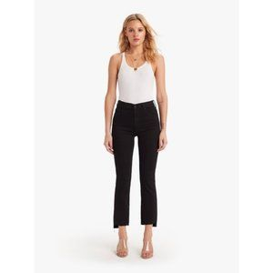 Mother Insider Crop Step Fray Jeans Not Guilty 23